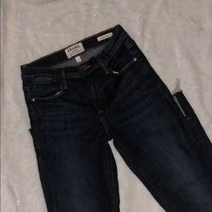 FRAME LE HIGH STRAIGHT JEANS SIZE 24 NWOT